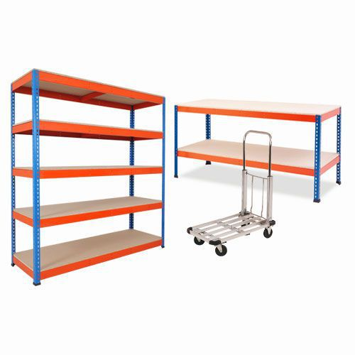 Rapid 1 Combo Deal- 1 Bay of Rapid 1 Shelving