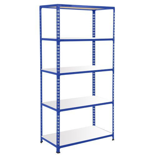 Rapid 2 Shelving (1600h x 915w) Blue - 5 Melamine Shelves