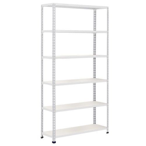 Rapid 2 Shelving (1600h x 915w) Grey - 6 Melamine Shelves