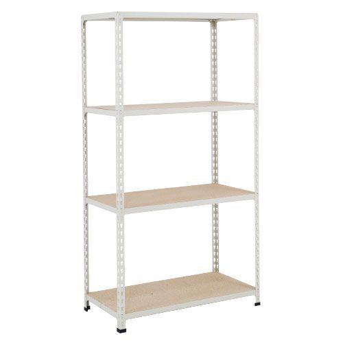 Rapid 2 Shelving (1600h x 915w) Grey - 4 Chipboard Shelves