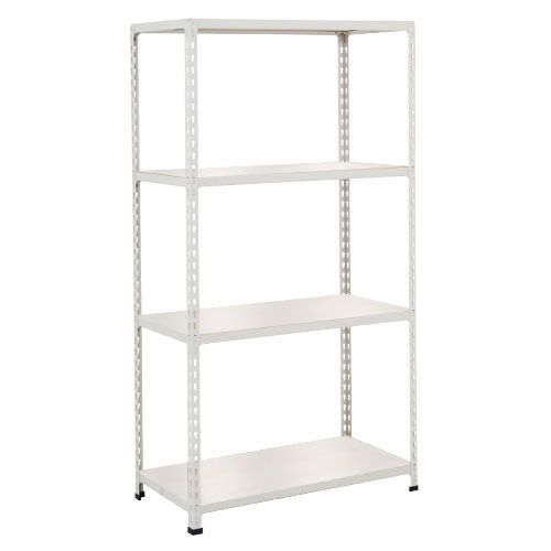 Rapid 2 Shelving (1600h x 915w) Grey - 4 Melamine Shelves