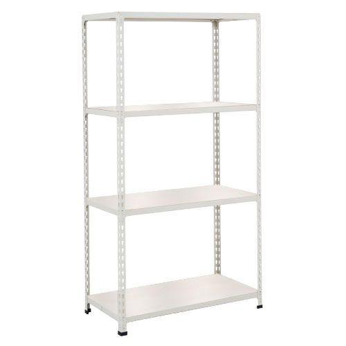 Rapid 2 Shelving (1600h x 1220w) Grey - 4 Melamine Shelves