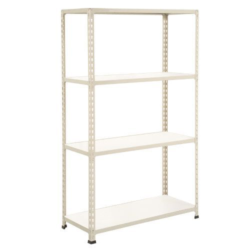 Rapid 2 Shelving (1980h x 915w) Grey - 4 Melamine Shelves