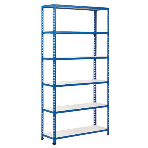 Rapid 2 Shelving (1980h x 915w) Blue - 6 Melamine Shelves