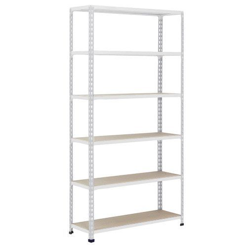 Rapid 2 Shelving (1980h x 915w) Grey - 6 Chipboard Shelves
