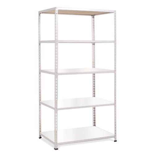Rapid 2 Shelving (1980h x 915w) Grey - 5 Melamine Shelves