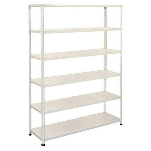 Rapid 2 Shelving (1980h x 1220w) Grey - 6 Melamine Shelves