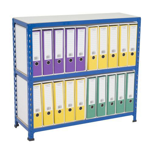 Rapid 2 Single Sided Lever Arch Storage Unit For 20 A4 Files