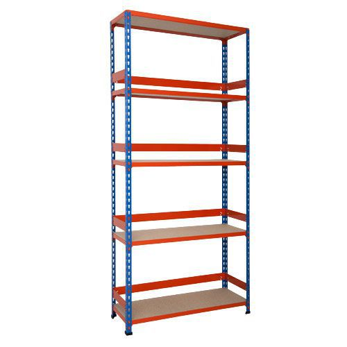 Rapid 2 Shelving (1980h x 915w) With Back & Side Stops