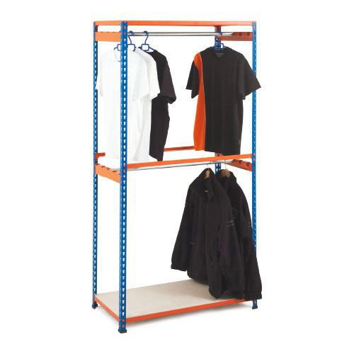 Rapid 2 Garment Shelving (1980h) With 2 Levels