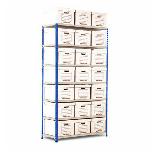 Rapid 2 Single Storage (1980h x 1120w) 21 White Document Boxes