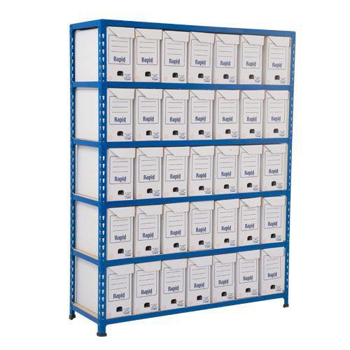 Rapid 2 (1600h x 1220w) Flip Top Storage Bays With 35 Boxes