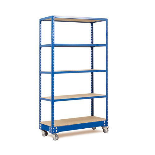 Rapid 2 Trolley (1700h x 915w) In Blue