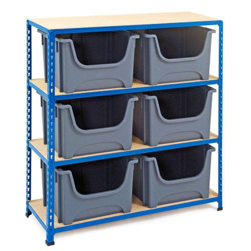 Rapid 2 (1220h x 1120w) Bin Storage Unit With 6 Bins