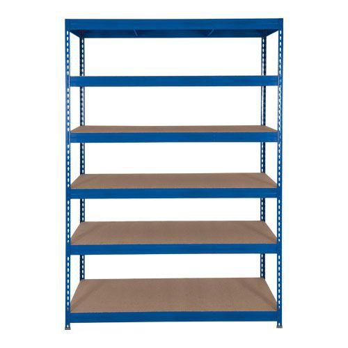 Rapid 3 Shelving (1800h x 1200w) Blue - 6 Fibreboard Shelves