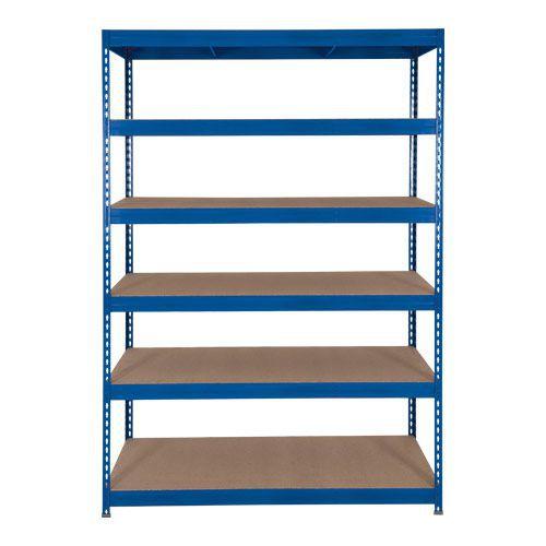Rapid 3 Shelving (1800h x 1500w) Blue - 6 Fibreboard Shelves