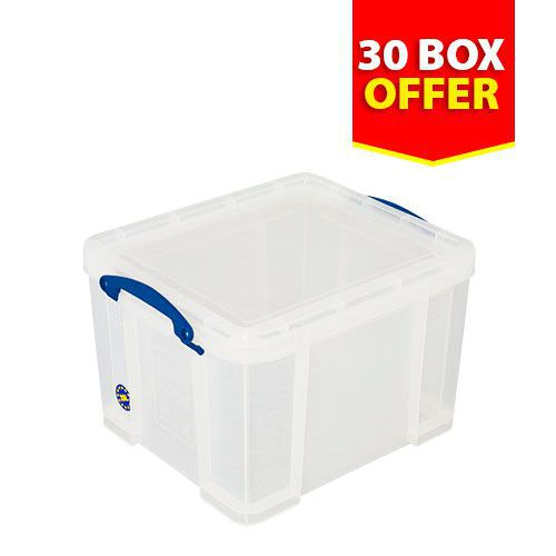 Pack of 30 x 35 Litre Really Useful Boxes