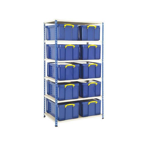 Rapid 2 Storage Bay (1980h x 1016w) 10 x 64 Litre Really Useful Boxes
