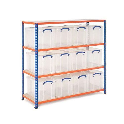Really Useful Box Storage Unit With 12 Boxes