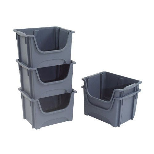 Pack of 5 Pickmaster Storage Containers (50 litre capacity)
