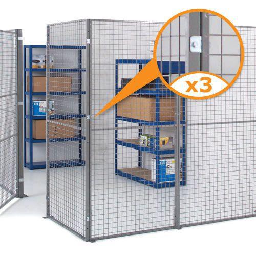 Industrial Mesh Partitioning - Corner Kit
