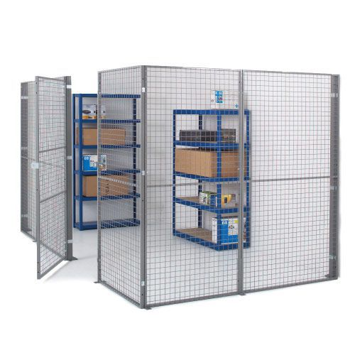 Industrial Mesh Partitioning - Support Post