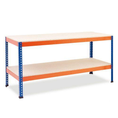 Rapid 1 - Heavy Duty Workbench (1830w) with Full Lower Shelf