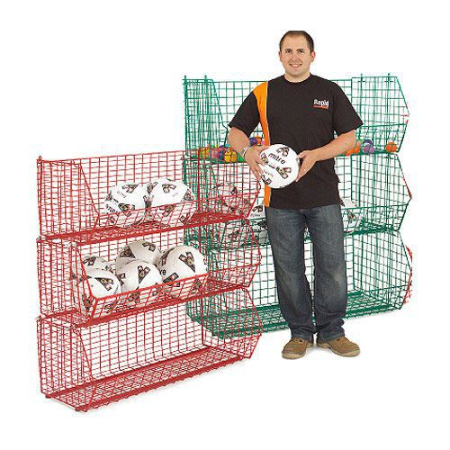 Wire Storage Baskets (90kg Capacity)