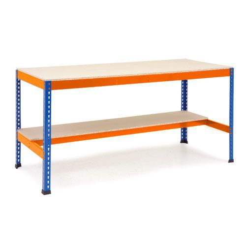 Rapid 1 - Heavy Duty Workbench (2440w) With Lower Half Shelf
