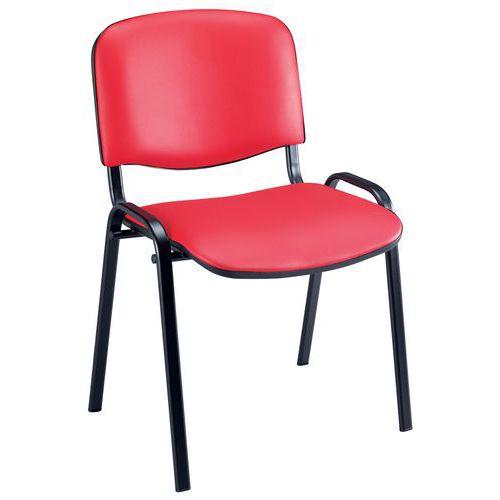 Humphreys Visitor Chair - Black Frame - Manutan