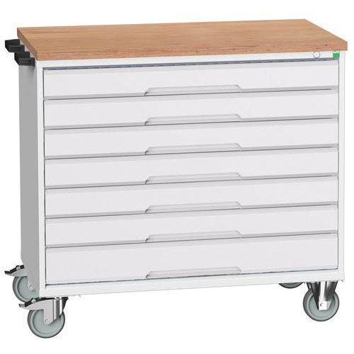 Bott Verso Multi Drawer Mobile Tool Storage Cabinet 980x1050x600mm