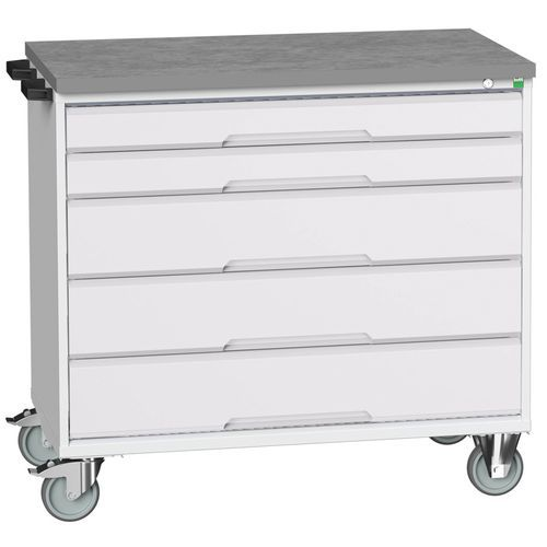 Bott Verso Multi Drawer Mobile Tool Storage Cabinet 980x1050x600mm