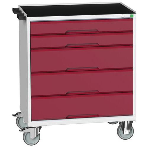 Bott Verso Multi Drawer Mobile Tool Storage Cabinet 965x800x550mm