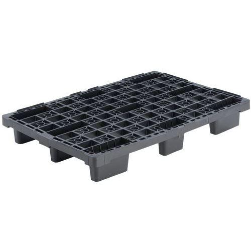 Lightweight Stackable Recycled Pallet - Manutan