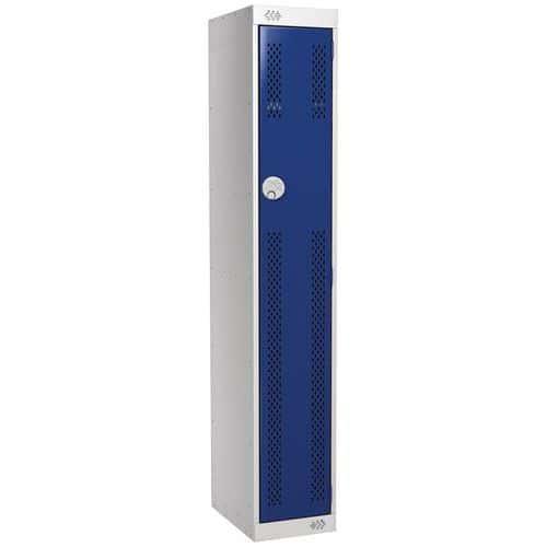 Lockers With 1-6 Ventilated Doors - HxW 1800x300mm