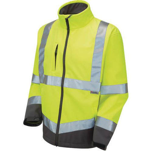 ae8fbef3d0 Hi vis softshell jacket  free next day delivery for orders over £99.