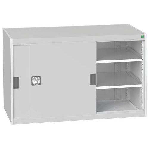 Bott Cubio Sliding Door Metal Storage Cabinet HxW 800x1300mm