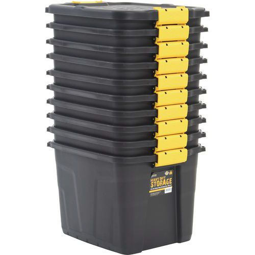 Strata Storage Boxes- 42L- Pack of 10