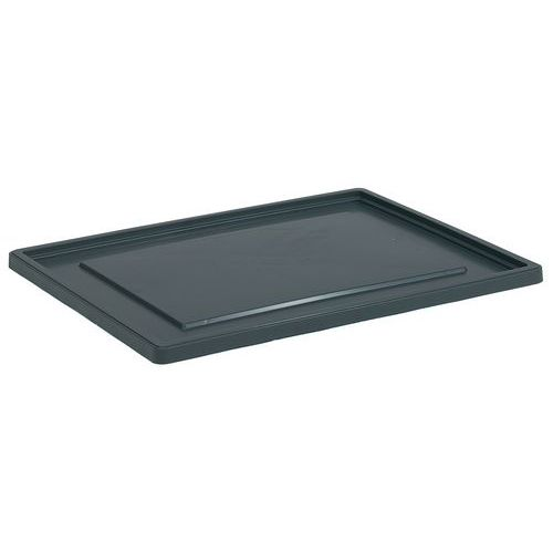 Slip Lids for Grey Stacking Containers