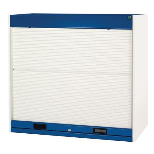 Bott Cubio Roller Shutter Metal Cabinet With 3 Shelves 1200x1300x650mm