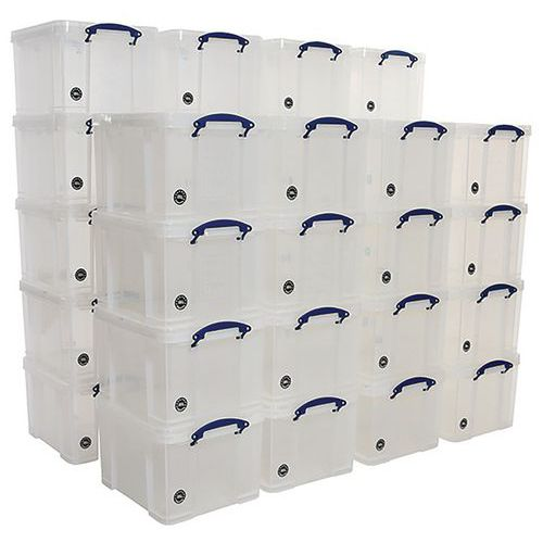 35L Really Useful Storage Plastic Boxes - Pallet Buy of 36 Units