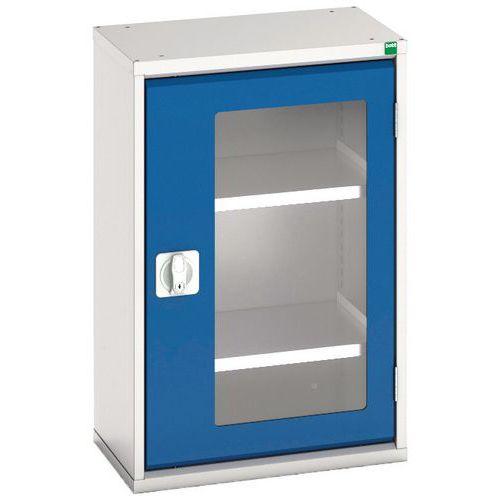 Bott Verso Vision Door Metal Storage Cupboard WxD 525x350mm