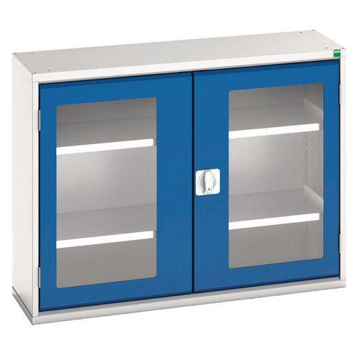 Bott Verso Vision Door Metal Storage Cupboard WxD 1050x350mm