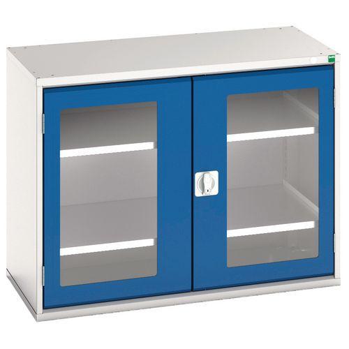Bott Verso Vision Door Metal Storage Cupboard WxD 1050x550mm