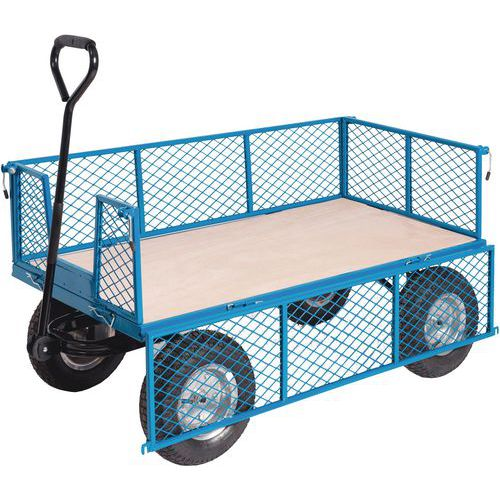 General Purpose Truck with Mesh Sides - 400kg
