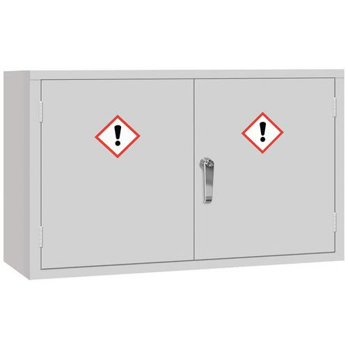 COSHH Hazardous Chemical Safety Storage Cabinet - Wide HxW 610x915mm