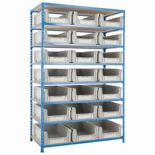 Rapid 2 (1800h x 1280w)with 21 Open Fronted Euro Containers