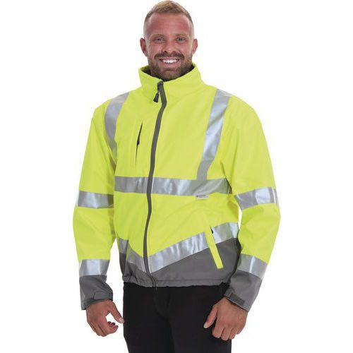 Hi Vis Softshell Jacket