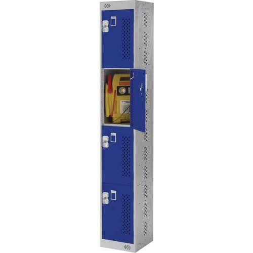 Tool Charging Lockers 4-8 Doors - HxW 1800x300mm