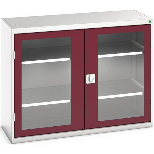 Bott Verso Vision Door Metal Storage Cupboard WxD 1300x550mm